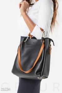 '.Большая кожаная сумка .'