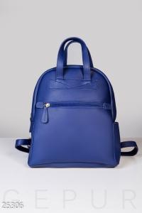 '.Кожаный рюкзак-сумка .'