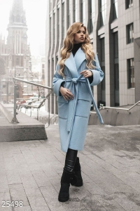 '.Классическое женское пальто .'
