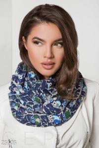 '.Ангоровый шарф-снуд .'