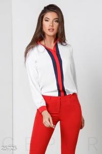 '.Трехцветная женская блуза .'