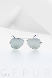 '.Зеркальные очки-авиаторы .'