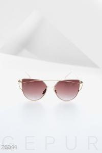 '.Металлические женские очки .'