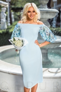 '.Воздушное нарядное платье .'